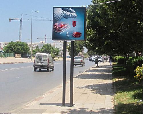 Luxio Display Ecran Led Totem Maroc (11)